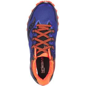 saucony Peregrine 8 Shoes Men Blue/Black/ViziRed